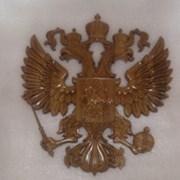 герб из массива дуба, березы фото
