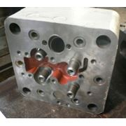 Крышка цилиндра Д26.78.1 спч (аналог 5Д49.78.1 спч) для дизельного двигателя Д49 фото