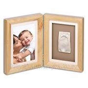 Рамка двойная для фотографии и 1 отпечатка фото
