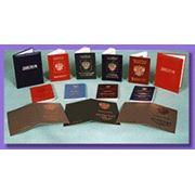 Переплетные материалы с нитроцеллюлозным покрытием ГОСТ 8705-78ГОСТ 9996-84 фото