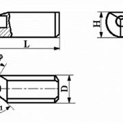 Вставки цилиндрические к фасочным резцам с режущим элементом из АСПК («Карбонадо») и Композита-01 (Эльбора-Р) ИС-214 фото