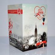 Живая 4D открытка фото