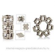 Магнитный НеоКуб (кубик 4мм) серебро фото