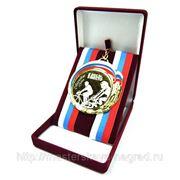 Футляр для медалей. Красный. фото
