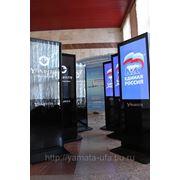Реклама на ЖК-панелях фото
