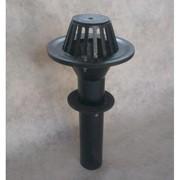 Воронка водосточная чугунная ВР-100 в сборе (Ду 100 х 600) фото