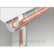 Обогрев водостоков и карнизов греющим кабелем самрег MHL 24-2 CR