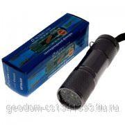 Ultraflash фонарь ручной UF9/1LED (107 мм, черный, 9LED, 3хR03. алюминий) фото