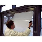 Пленка обратной проекции (витрина-телевизор) Белая фото