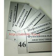 Таблички для медицинских учреждений (для больницы)