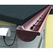 Саморегулирующийся греющий кабель для обогрева водостока 40 Вт (5 метров) готовая секция фото