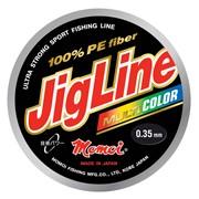 Шнур JigLine Multicolor 0,20 мм, 16,0 кг, 100 м, цветной фото