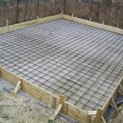 Строительство фундамента для дома и бани под ключ фото