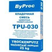 """Кладочная смесь универсальная TPU-030 """"ByProc"""" 25 кг фото"""