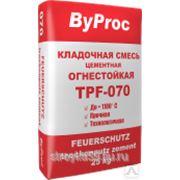 """Кладочная смесь огнестойкая 25кг """"ByProc"""" TPF-070, шт фото"""