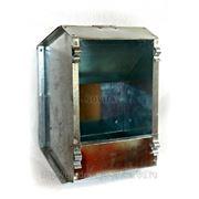 Кормушка бункерная оцинкованная металлическая однасекционная с крышкой для кроликов фото