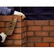 Каменная кладка стен и конструкций из кирпича толщиной от 380 мм фото