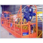 Подъемник фасадный подвесной ПФП-01 с большими консолями фото