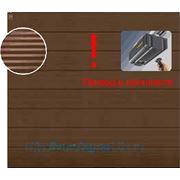 Автоматические гаражные секционные ворота Hormann (2500х2125) Micrograin RAL 8028 (Хёрманн или Хёрман)