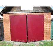 Гаражные ворота с утеплителем фото