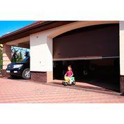 Ворота гаражные Алютех с замком фото