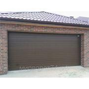 Гаражные секционные ворота ALUTECH 2500x2125 серия standart фото