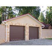 Гаражные секционные ворота DOORHAN серии RSD01S размер 2500х2125