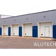 Промышленые ворота Alutech фото