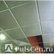 Плита потолочная АР600А6 А903РУС01 белая матовая алюминий (0.6х0.6),шт фото