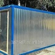 Металлический блок контейнер фото
