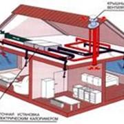 Монтаж систем вентиляции воздуха фото
