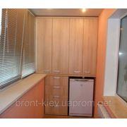Шкаф на балкон или лоджию под заказ в киеве (устройство балк.