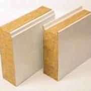Трехслойная сэндвич-панель стеновая c базальтовым утеплителем фото