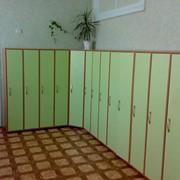 Шкафчик для детского сада фото