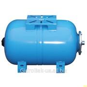 Гидроаккумулятор водоснабжения горизонтальный 50 л фото