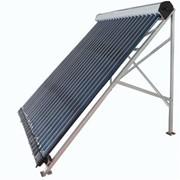 Солнечный коллектор СН-31-15 Проточный 15 л, 15 трубок фото