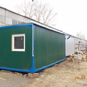 Блок-контейнеры и вагончики для различных нужд фото