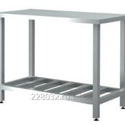 Стол центральный с полкой-решеткой серии 600 Chef СРЦ 4/6Р фото