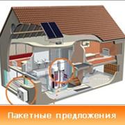 Системы горячего и холодного водоснабжения частного дома фото