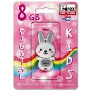 USB флеш-накопитель Mirex RABBIT GREY 8GB ecopack,USB флеш-накопители, USB флешки, Флешки фото