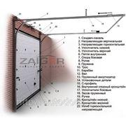 Ворота секционные ZAIGER classic ECO фото