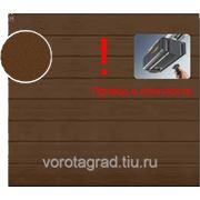 Автоматические гаражные секционные ворота Hormann (3000х2500) New Silkgrain RAL 8028 (Хёрманн или Хёрман) фото