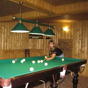Бильярд в гостинице фото