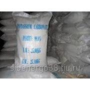 Поташ, Карбонат калия, калий углекислый мешки по 42 кг в Иркутске фото