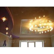 Двухуровневые потолки фото