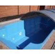 Бассейн 6м*3м*1,7м голубого цвета. Для всей семьи на открытом воздухе. фото