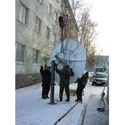 Фиксированная спутниковая связь фото