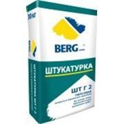 ШТ ГИПСОВАЯ Штукатурка ручного и машинного применения BERG home, 25кг фото