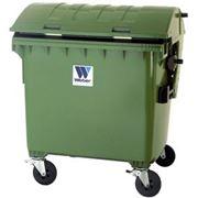 Евроконтейнеры для сбора отходов и мусора MGB 1100 литров фото
