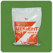 Цемент пакет 3 кг. фото